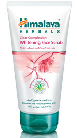 Clear Complexion Whitening Face Scrub